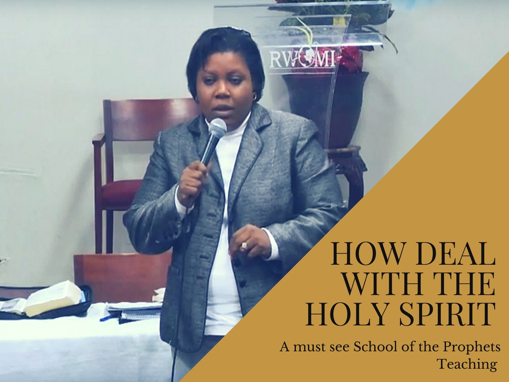 How Deal With The Holy Spirit